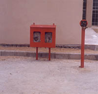 Hydrant Post Hase Box with